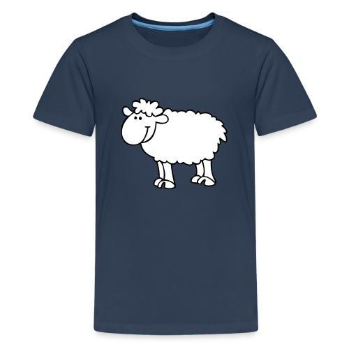 Schaf2 - Teenager Premium T-Shirt