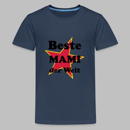 Beste MAMI der Welt - Mit Stern - Teenager Premium T-Shirt