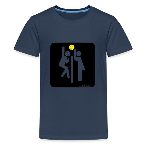 Toilet Volley - Maglietta Premium per ragazzi