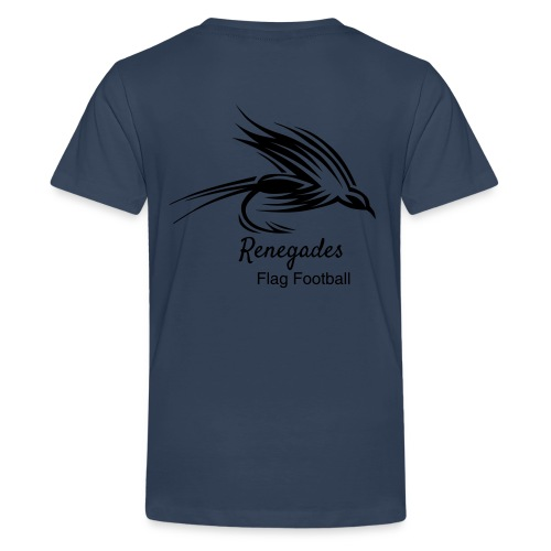 Renegades_Black_Schrift P - Teenager Premium T-Shirt