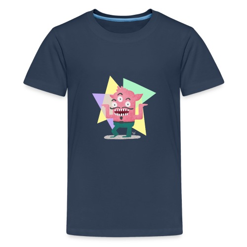 Dancing Monster - Teenager Premium T-Shirt