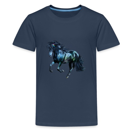 The Blue Horse - Teenager Premium T-Shirt