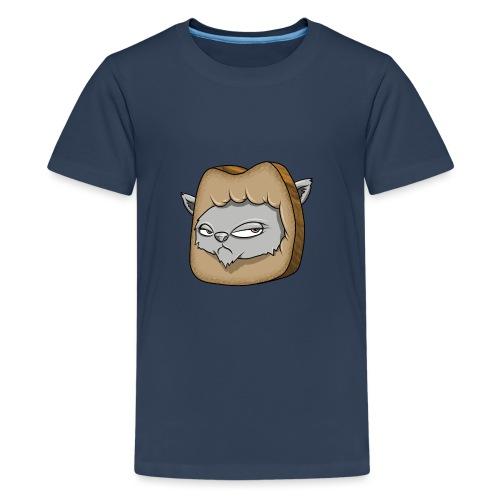 Katze und das Toastbrot - Teenager Premium T-Shirt