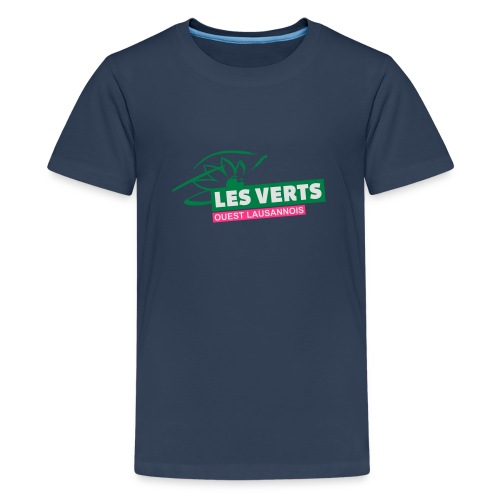 Les Verts OL normal - T-shirt Premium Ado
