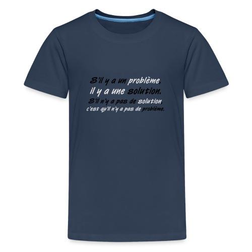 Bob Marley - T-shirt Premium Ado