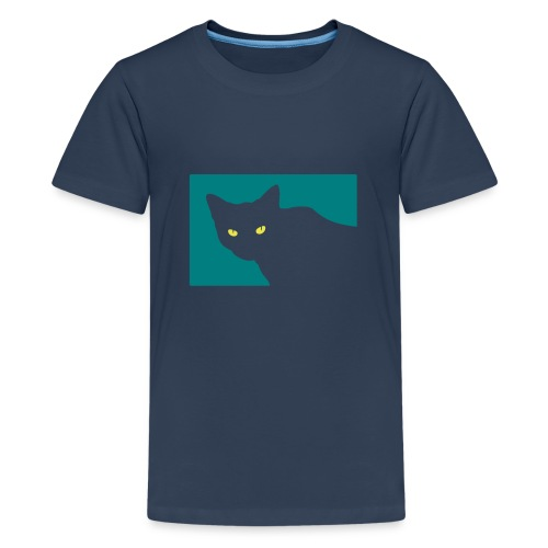 Spy Cat - Teenage Premium T-Shirt