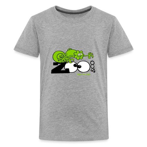 Zooco Chameleon - Teenage Premium T-Shirt
