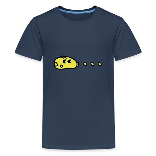Pac chaising dots - Teenager Premium T-Shirt