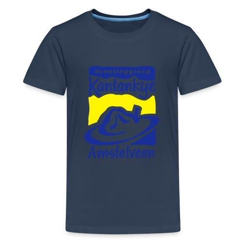logo simpel 2 - Teenager Premium T-shirt