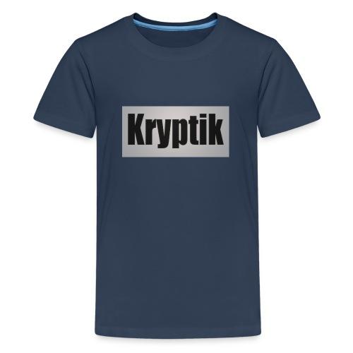 Kryptik Logo Gross - Teenager Premium T-Shirt