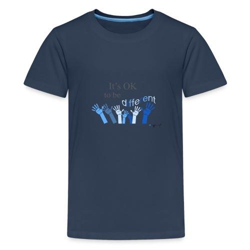 Its OK to be different - Koszulka młodzieżowa Premium