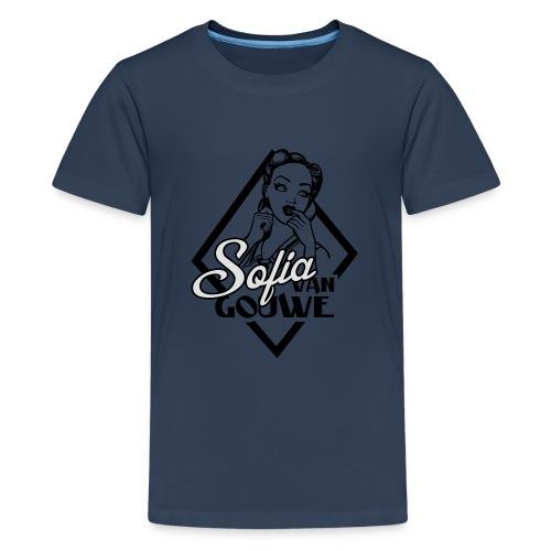 Sofia van Gouwe - Teenager Premium T-shirt