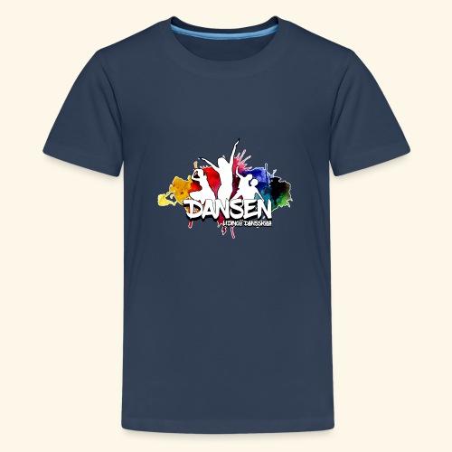 Dansen ColorSplash - Premium-T-shirt tonåring