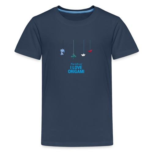 Origami - Maglietta Premium per ragazzi