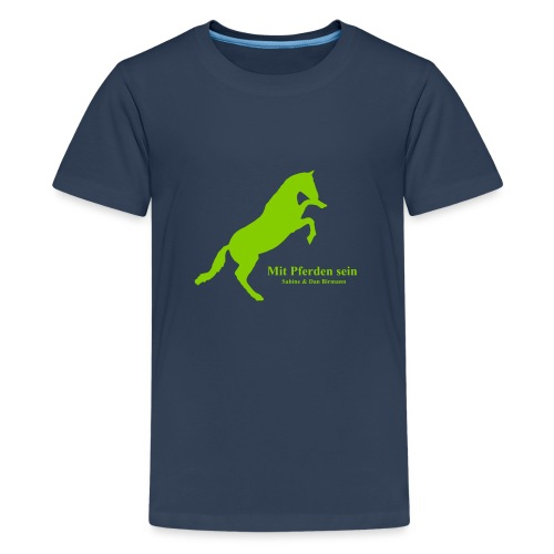 Jaward steigendes Pferd - Teenager Premium T-Shirt