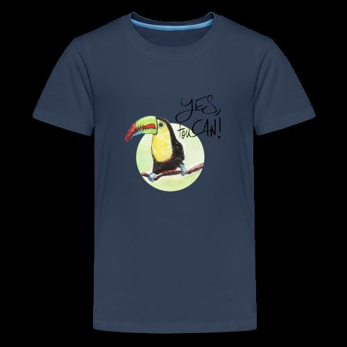 yes, toucan - Teenager Premium T-Shirt