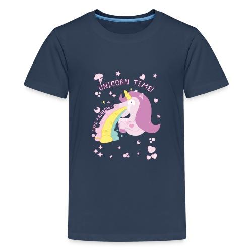 Unicornio - Camiseta premium adolescente