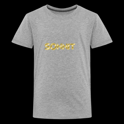 Sonnit Gold Plated Limited Edition - Teenage Premium T-Shirt