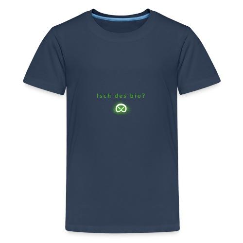 Prenzlschwaebin Bio.png - Teenager Premium T-Shirt