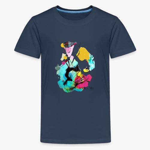 colour woman - Camiseta premium adolescente
