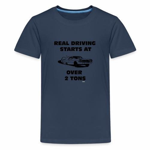 Impala Drifting 2 tons - Premium T-skjorte for tenåringer