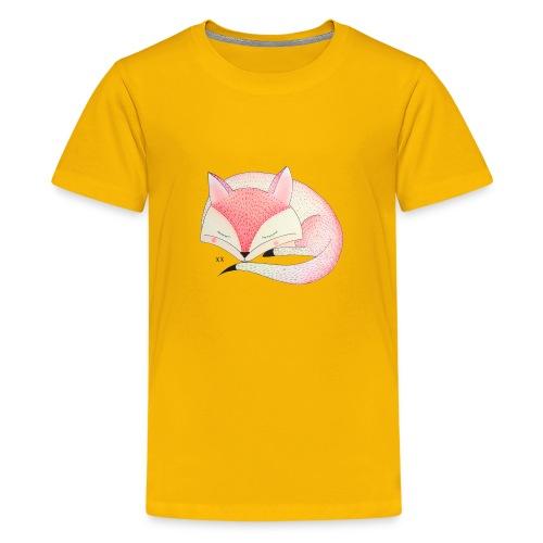 roze vos - Teenager Premium T-shirt