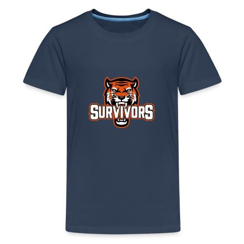 Survivors - Premium-T-shirt tonåring