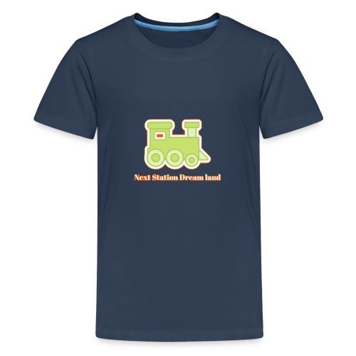 Next Station Dream country - Teenage Premium T-Shirt