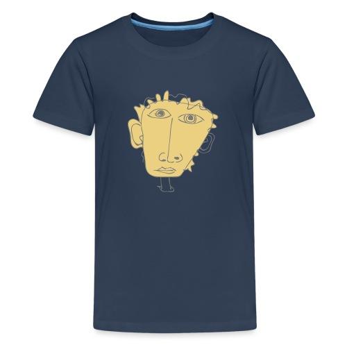 Telefonnotiz - Teenager Premium T-Shirt