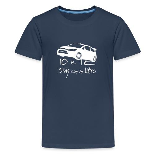 Io e Te 3km/l - Maglietta Premium per ragazzi