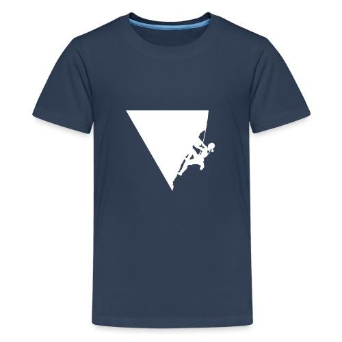 Klettern in Leonidio - Teenager Premium T-Shirt