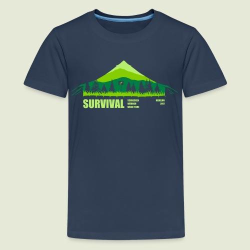 Zeltlager 2017 Motiv - Teenager Premium T-Shirt