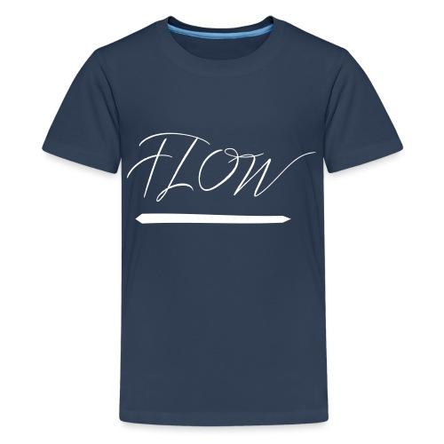 flow - Teenager Premium T-Shirt