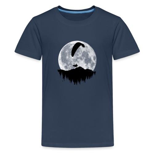 Paralgeiter im Vollmond - Teenager Premium T-Shirt