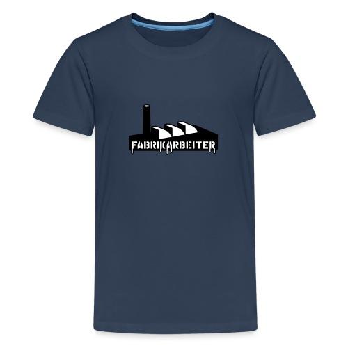 Fabrikarbeiter - Teenager Premium T-Shirt