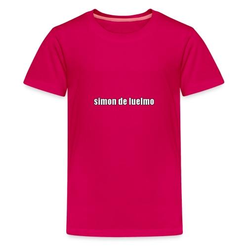 simon - Premium-T-shirt tonåring