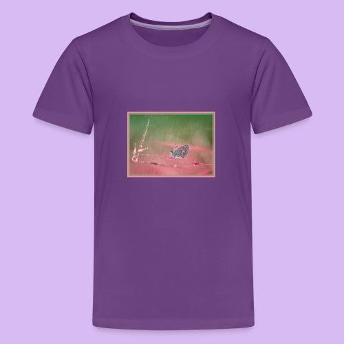 Farfalla nella pioggia leggera - Maglietta Premium per ragazzi