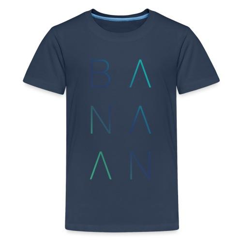 BANAAN 02 - Teenager Premium T-shirt