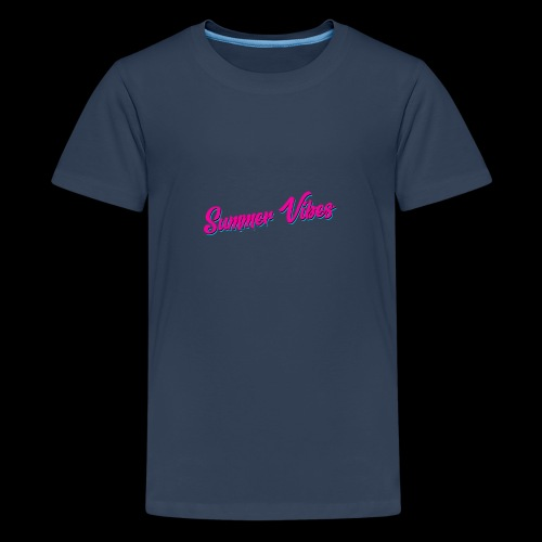 Summer Vibes - Teenager Premium T-Shirt