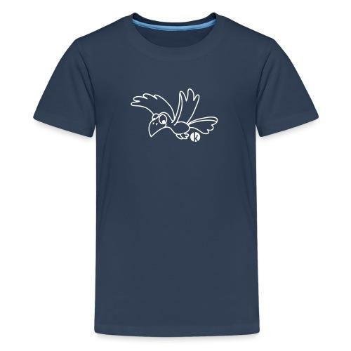Rabe - Crow - Teenager Premium T-Shirt