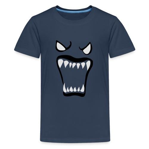 Monsters running wild - Premium-T-shirt tonåring