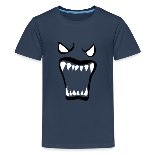 Monsters running wild - Premium-T-shirt tonåring