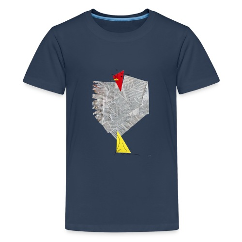 Gallodico - Camiseta premium adolescente