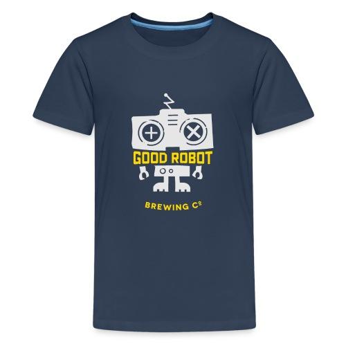 good robot Character - Teenage Premium T-Shirt