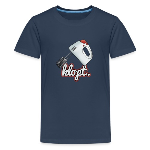 Klopt - Teenager Premium T-shirt