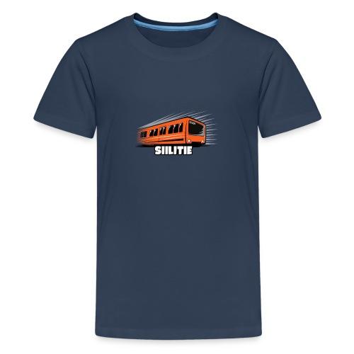 08 - METRO SIILITIE - HELSINKI - LAHJATUOTTEET - Teinien premium t-paita