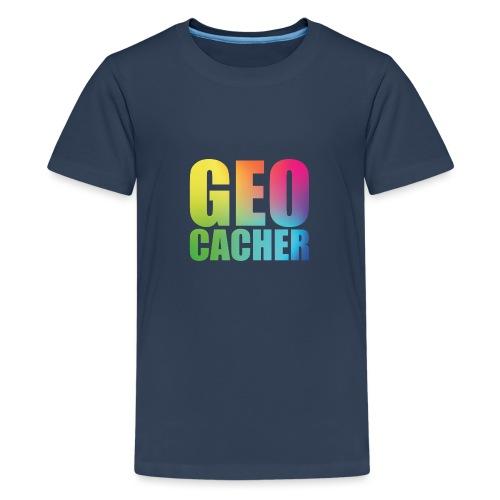 Geocacher (summer2016) - Teinien premium t-paita