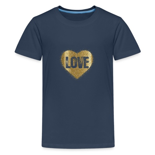 Heart-5 - Teenager Premium T-Shirt