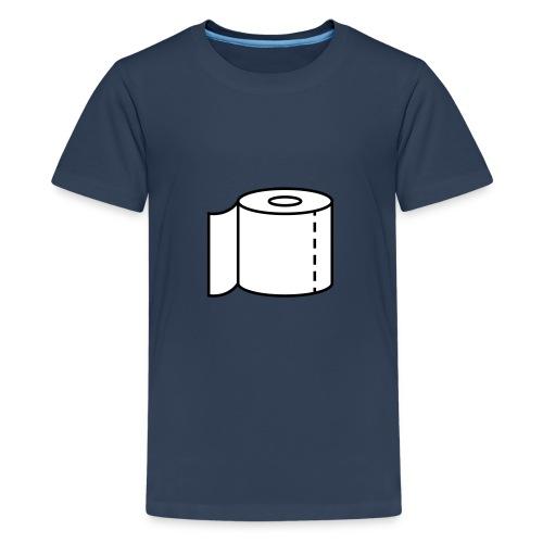 Klopapier für den Notfall - Teenager Premium T-Shirt