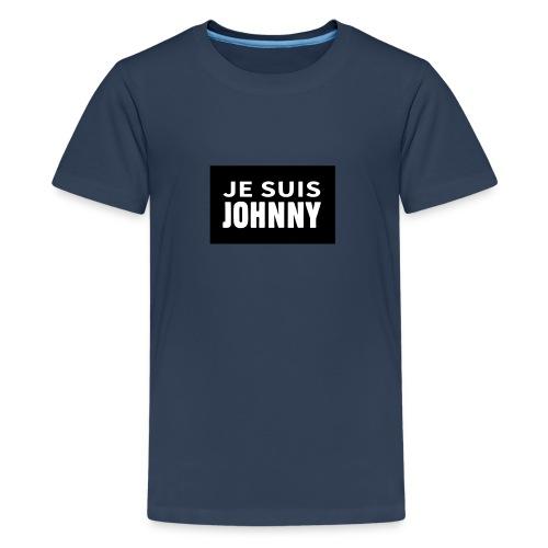 Je suis Johnny - T-shirt Premium Ado